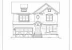 Front Elevation - 4415 Colchester Dr