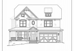 Front Elevation - 6117 Temple St