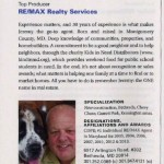 Jeremy Lichtenstein Named One of Washingtonian's Top Real Estate Agents!