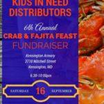 Sixth Annual Crab & Fajita Feast